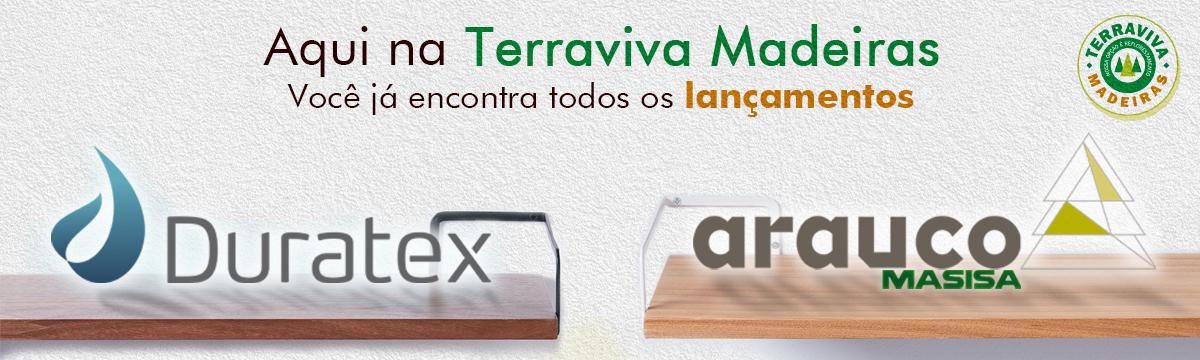 Novidades Duratex e Arauco